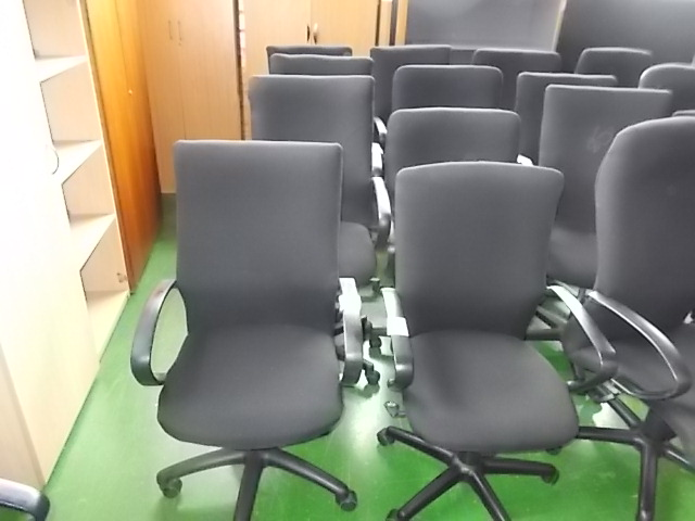 Various Recovered High Back Chairs