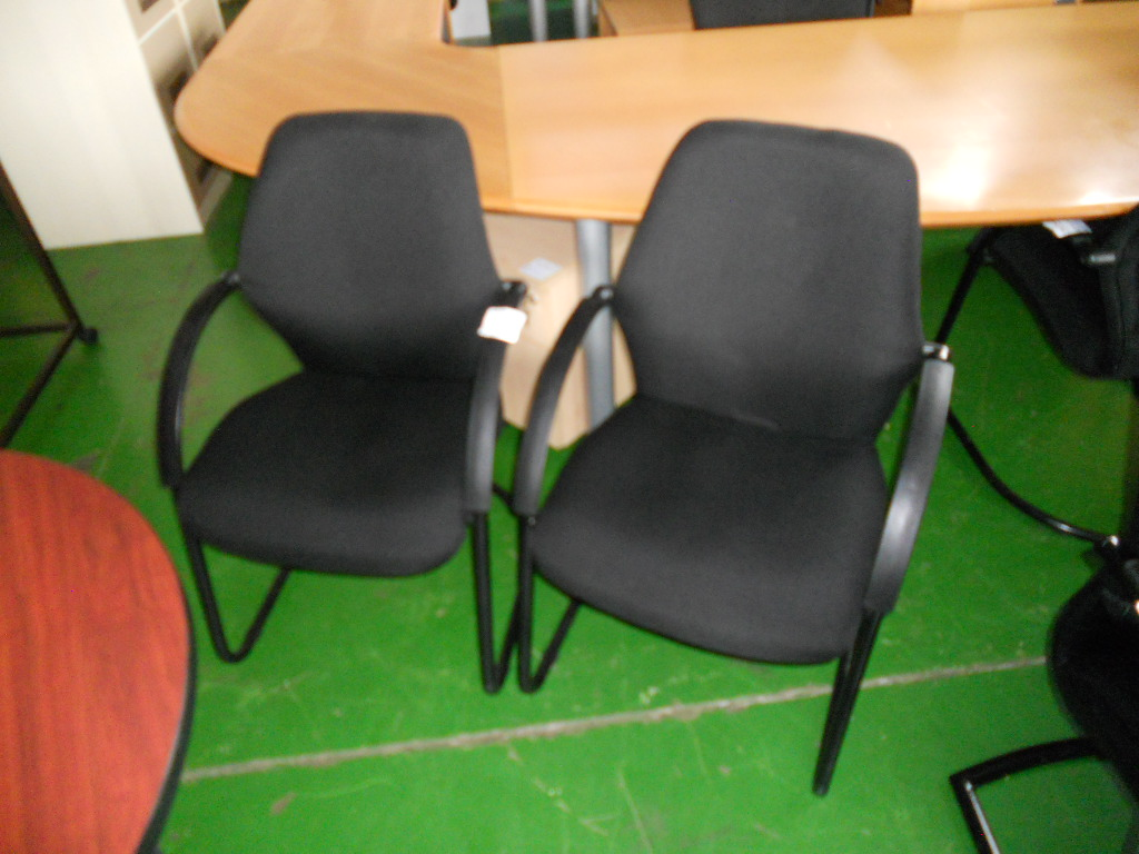 Various Recovered Visitor S Chairs For