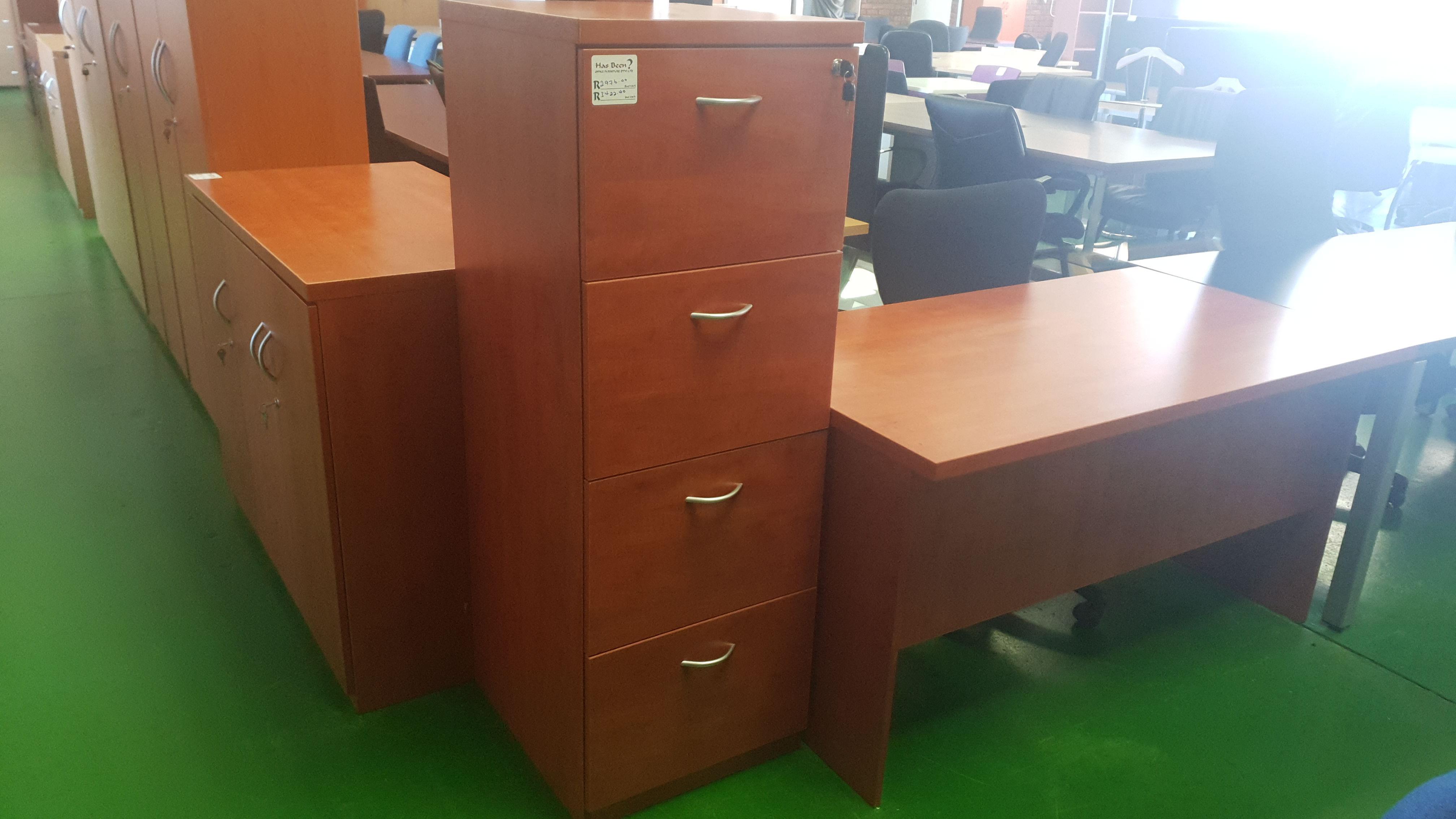 Picture of: Cherry Royale Wooden 4 Drawer Filing Cabinet For Sale In Johannesburg Has Been Office Furniture