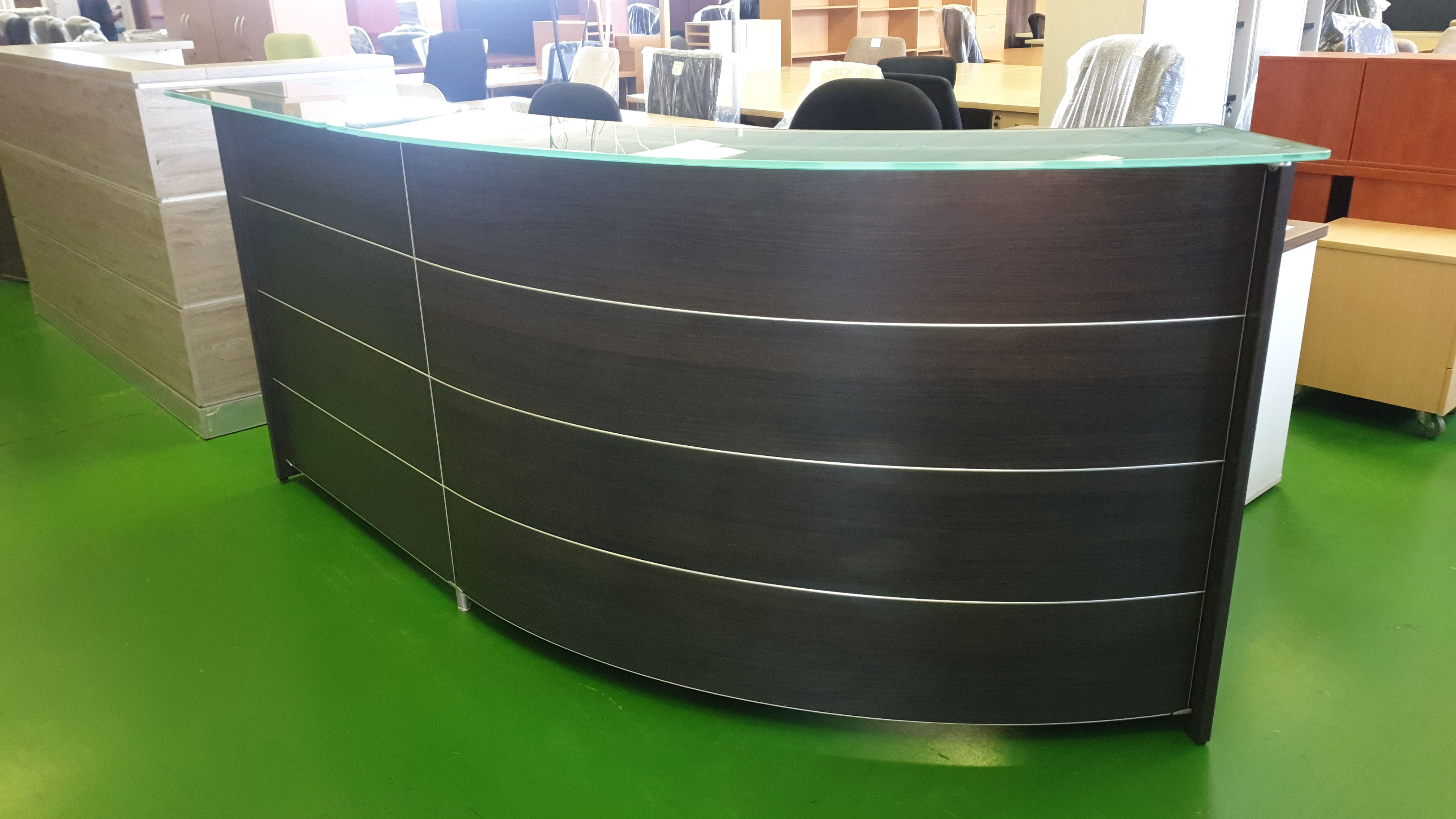 Glass Top Reception Unit For Sale In Johannesburg Has