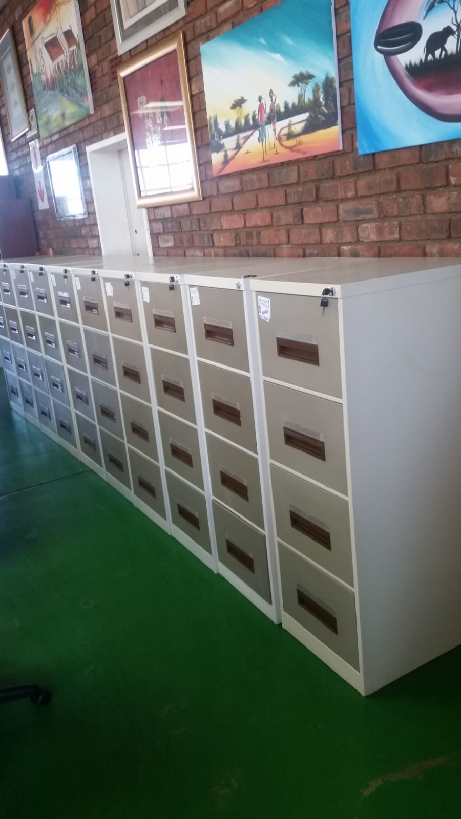 Picture of: 4 Drawer Steel Filing Cabinets For Sale In Johannesburg Has Been Office Furniture